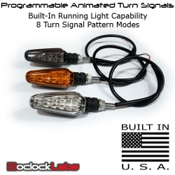 Programmable Animated Turn Signals