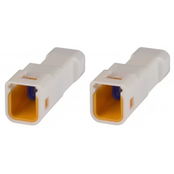 KTM OEM Turn Signal Connectors Type M (2 pin)