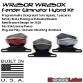 WR250R WR250X Integrated Tail Light / Fender Eliminator Hybrid Kit