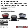 KLX250/300 DualSport/SM Tail Light Kit / Fender Eliminator Kit (2008-Current)