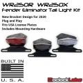WR250R WR250X Tail Light Kit / Fender Eliminator Kit