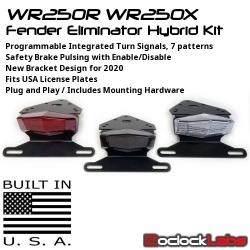 WR250R WR250X Integrated Tail Light / Fender Eliminator Kit